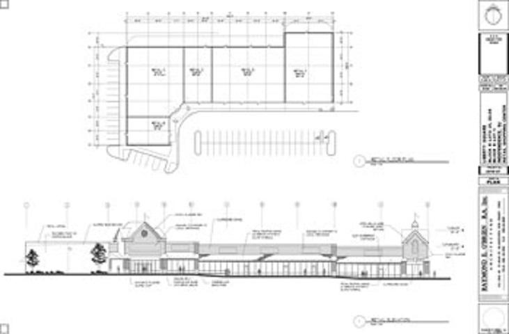 Liberty Square Retail Center Blueprint