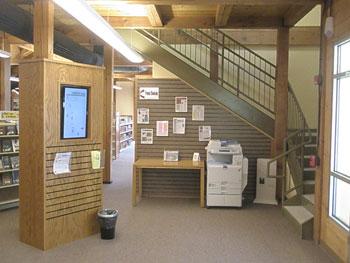 Branch Library Interior