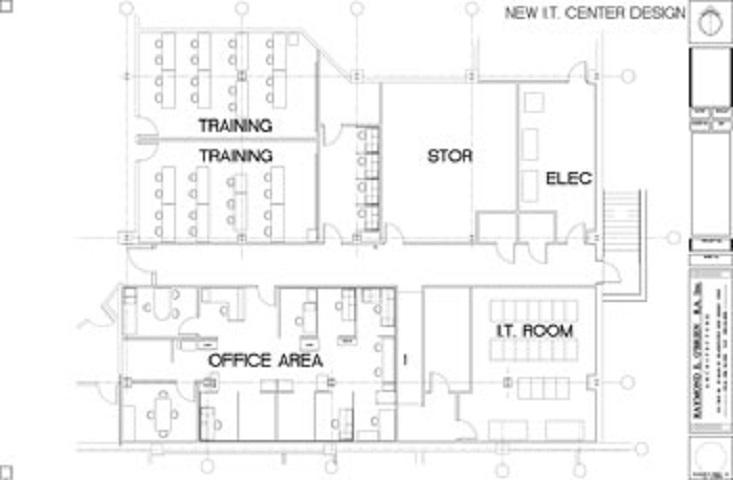New I.T. Center Design