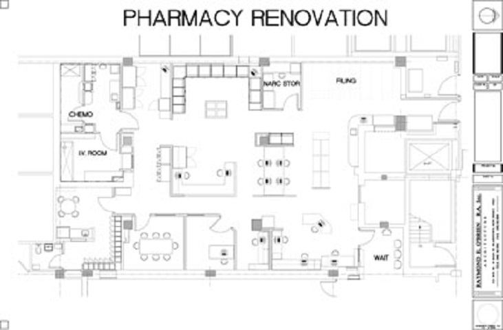 Pharmacy Renovation Design